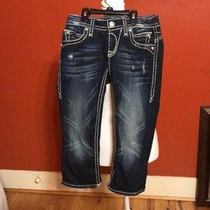 Rock Revival Johanna Capri Jeans